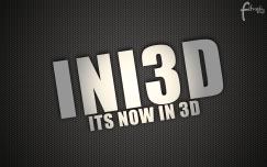 impressive text INI3D