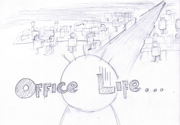 You will meet Office Life by Fitrah MP